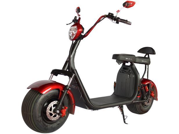 Scooter Eletrico Ciclo City Veloce Super 1000w Vermelha