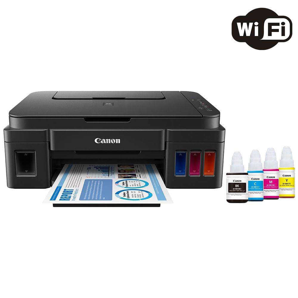 Impressora Multifuncional Canon Maxx Tinta G3111 Tanque de Tinta Colorida Wireless com Refil