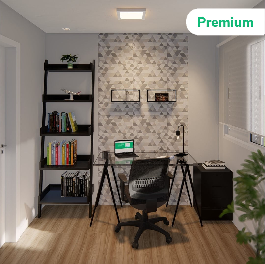 Home Office Oscuro Premium